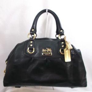 COACH Madison Leather Large Handbag Satchel